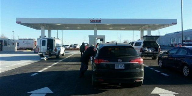 Costco ouvre sa station-service à