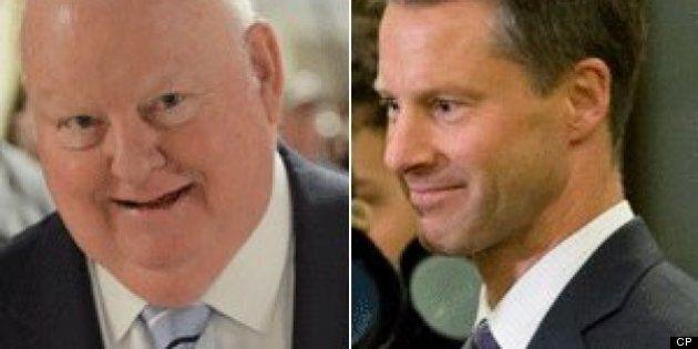 La GRC soupçonne Nigel Wright et Mike Duffy de
