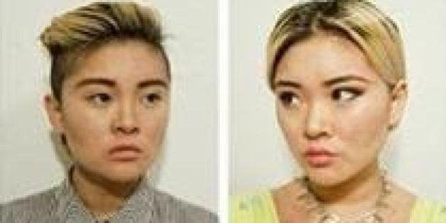 Transformation : une artiste passe du look de garçon manqué à celui de lolita