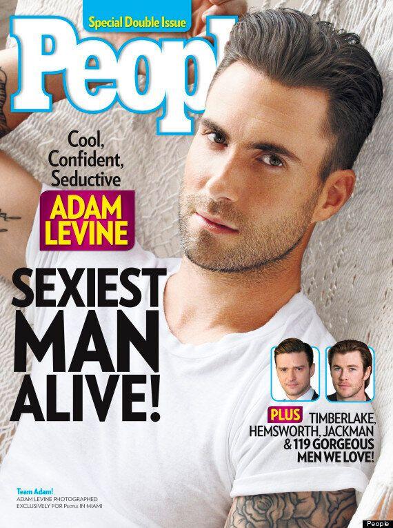 Adam Levine, l'homme le plus sexy de 2013 selon People Magazine (VIDEO,