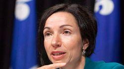 Visite surprise de la ministre Martine Ouellet à la plage de