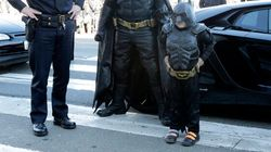 Un enfant en rémission entre dans la peau de Batman