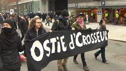 Harper accueilli par des manifestants anticapitalistes