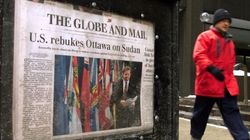 Le Globe and Mail ne sera plus distribué partout au