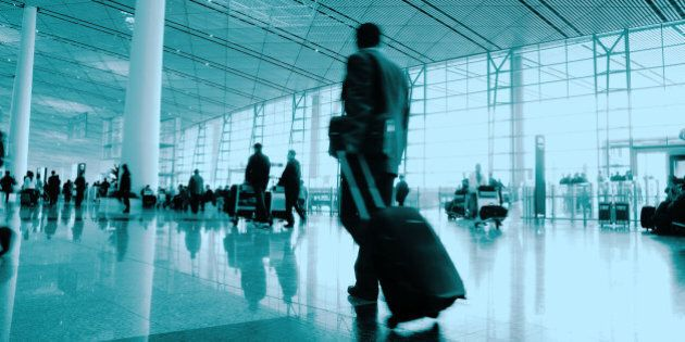 passenger in the airport