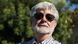 George Lucas et Mellody Hobson sont