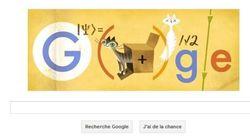 La physique quantique (et un chat) à l'honneur sur Google