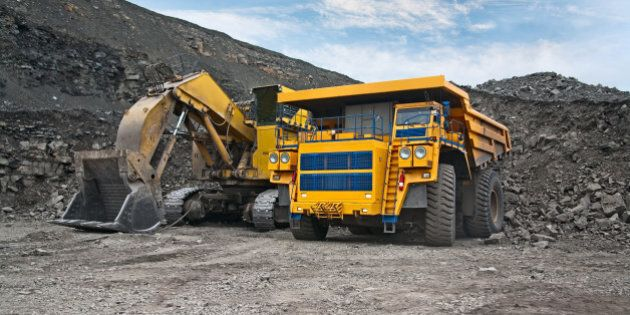 picture of a large mining...