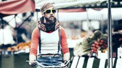 Un casque à vélo...