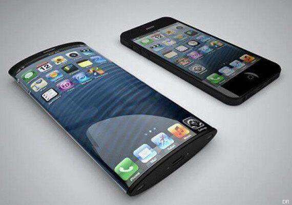 iPhone: Apple travaillerait sur des écrans incurvés et plus grands pour ses prochains