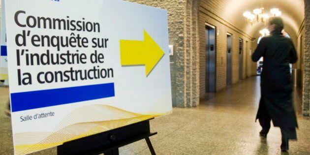 Commission Charbonneau: les audiences reprennent