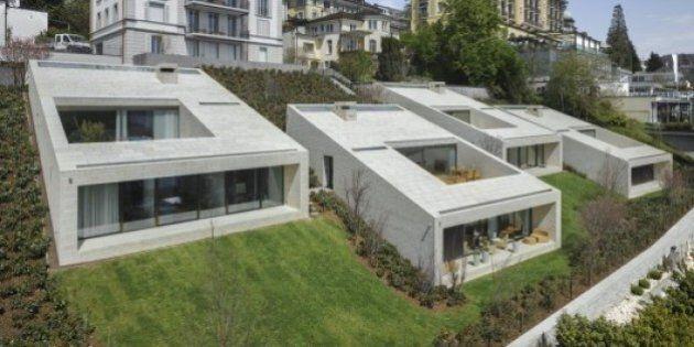 Des villas troglodytes en milieu urbain
