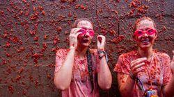 20 000 personnes et 130 tonnes de tomates...