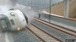 En vidéo: le déraillement de train de Saint-Jacques-de-Compostelle en