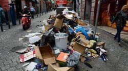 Madrid envahie par les détritus en raison d'une grève du