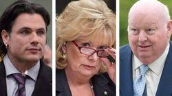 Le temps de suspension des sénateurs Brazeau, Duffy et Wallin comptera pour leur