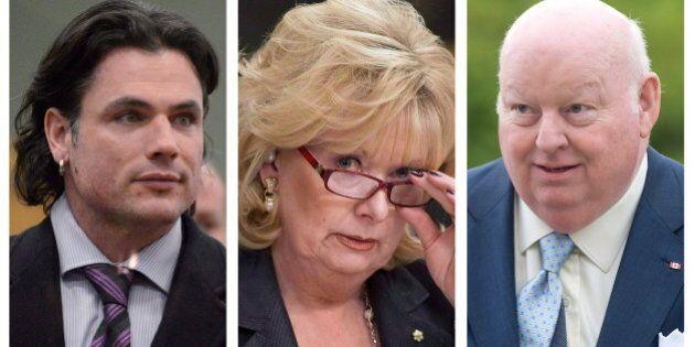 Le temps de suspension de Brazeau, Duffy et Wallin comptera pour leur