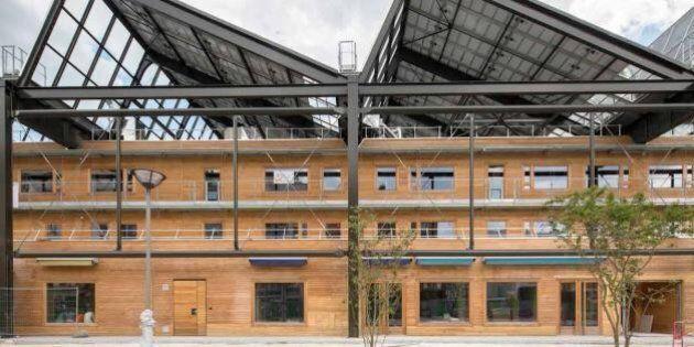 Bâtiment écologique: la Halle Pajol pourrait vous