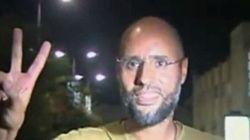 L'étrange apparition du fils de Kadhafi à la télé libyenne