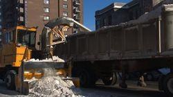 Montréal: 70 % des rues sont maintenant