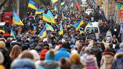 Les manifestations se poursuivent en Ukraine et le ton