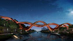 Un pont inspiré du ruban de Möbius va voir le jour en Chine