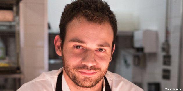 Jean-Sébastien Giguère, nouveau chef au restaurant Decca 77 à