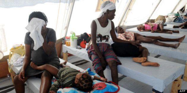 Épidémie de Choléra en Haïti: menace de poursuite contre