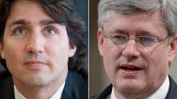 Justin Trudeau et Stephen Harper, deux personnalités aux