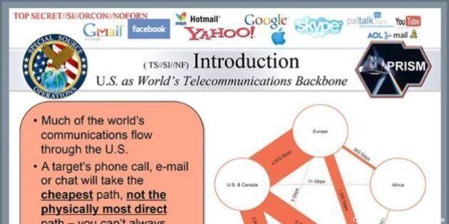 PRISM : un internaute se moque de la NSA et réalise son propre diaporama de présentation