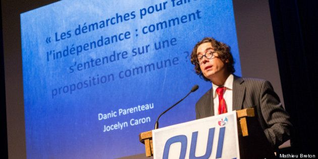 Danic Parenteau est le nouveau président du Nouveau mouvement pour le Québec