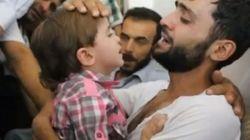 Syrie: Émouvantes retrouvailles entre un père syrien et son fils qu'il croyait mort