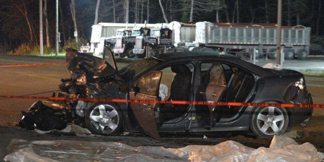 Collision mortelle entre deux véhicules sur la route 131 à