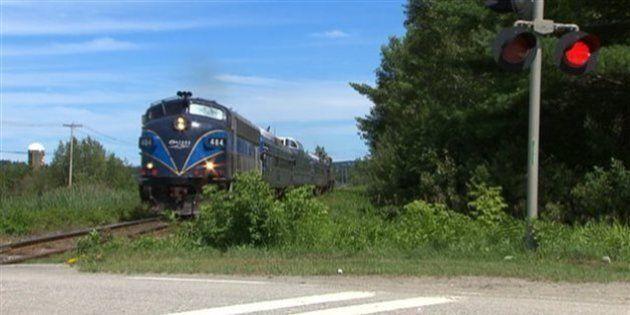 L'Orford Express forcé d'annuler ses voyages en train à