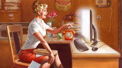 Désormais, les pin-ups ont des ordinateurs
