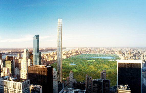 New York : un gratte-ciel incroyablement étroit bientôt en construction au bord de Central Park