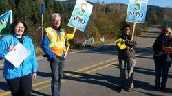 La SEPAQ dépose une plainte pour « grève illégale