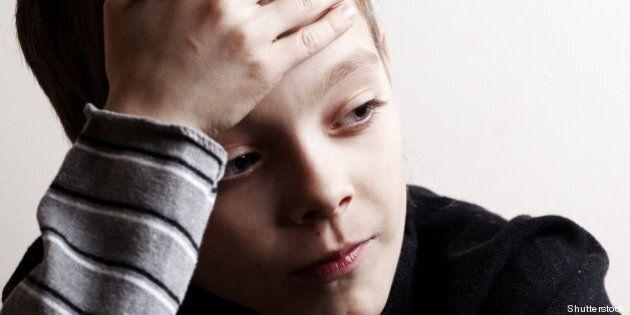 sad boy. depressed teenager