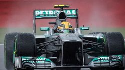 GP de Belgique: Lewis Hamilton remporte la pole