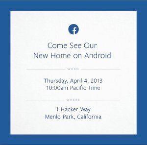 Facebook Phone : le réseau social lancerait son propre système
