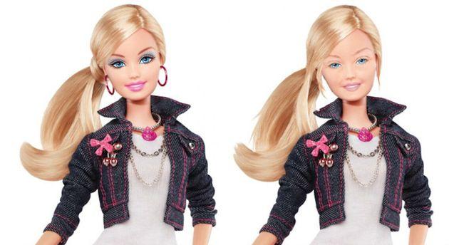 Ce à quoi ressemble Barbie sans maquillage