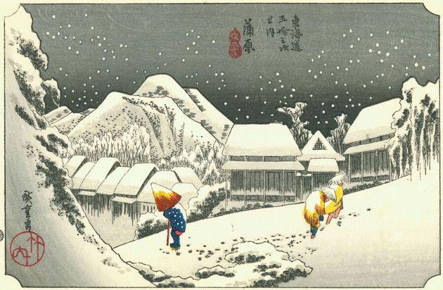 14 tableaux de neige pour marquer le début de hiver