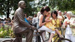 Dévoilement jeudi à Toronto d'une statue de bronze de Jack Layton