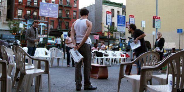 New York: une pièce de Shakespeare est jouée dans un stationnement de