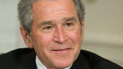 George W. Bush opéré au