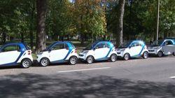 Un nouveau libre-service de location d'autos à