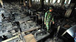 Incendie d'une usine textile au Bangladesh: les propriétaires sont