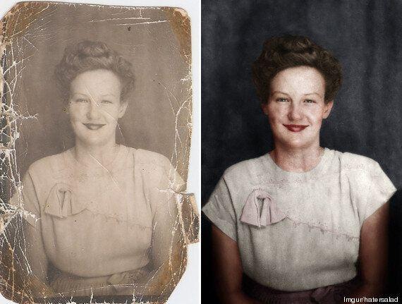 Avec Photoshop et Camstudio, un internaute retouche de vieilles photos en noir et blanc pour leur redonner...