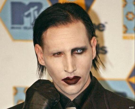 Marilyn Manson apparaît sans maquillage sur un tournage