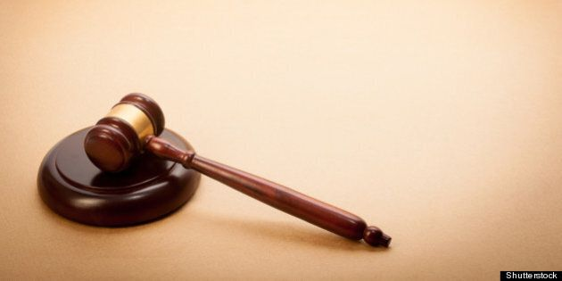 a wooden gavel and